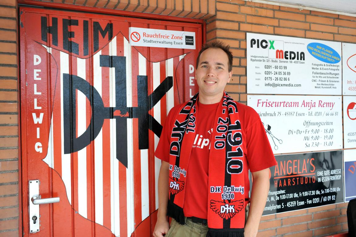 DJK-Boss Pascal Doll hat lange für seinen Klub gekämpft. Fotos: Tillmann